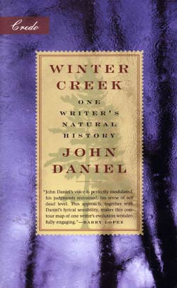 Winter Creek by Author John Daniel